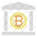 Bitcoin Bank Bitcoin Cryptocurrency Icon