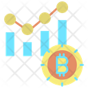 Report Bitcoin Bitcoin Bar Chart Bitcoin Graph Icon
