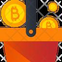 Bitcoin Basket Bitcoin Basket Icon