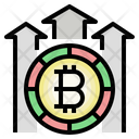 Bitcoin Benefit Profit Trading Icon