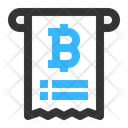 Bitcoin Bill Icon
