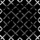 Bitcoin Block Block Blokchain Icon