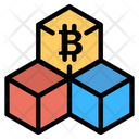 Bitcoin Block Icon