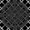 Blockchain Bitcoin Bitcoins Icon