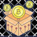 Bitcoin Block Reward Icon