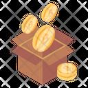 Bitcoin Block Reward Blockchain Reward Crypto Reward Icon