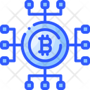 Bitcoin Blockchain Icon
