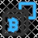 Bitcoin Blockchain Icon
