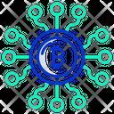 Bitcoin Blockchair Icon