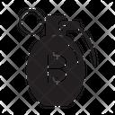 Bitcoin Bomb Icon