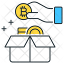 Bitcoin Box Bitcoin Storage Icon