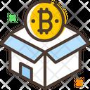 Bitcoin Bitcoin Box Icon