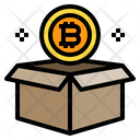 Box Package Bitcoin Icon