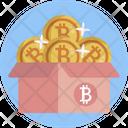 Bitcoin Box Icon