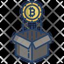 Bitcoin Box Bitcoin Raise Bitcoin Increase Price Icon