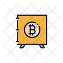 Bitcoin Brankas Bitcoin Locker Bitcoin Safe Icon