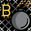 Bitcoin Break Icon