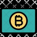 Bitcoin Briefcase Icon