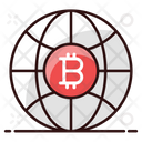 Bitcoin Business Bitcoin World Cryptocurrency Market Icon