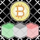 Bitcoin Business Blockchain Startup Icon
