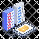 Blockchain Business Bitcoin Business Digital Money Icon