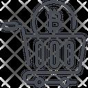 Bitcoin Buy Market Icon