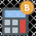 Bitcoin Calculation Icon