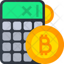 Bitcoin Calculation Bitcoin Calculator Icon