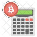 Calculator Calculation Mining Icon