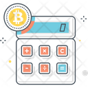 Bitcoin Calculator Icon