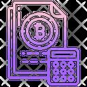 Bitcoin Calculator Icon