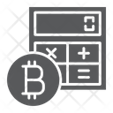 Bitcoin Calculator Finance Icon
