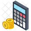 Bitcoin Calculator Bitcoin Calculation Mining Calculator Icon