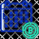 Bitcoin Calendar Icon