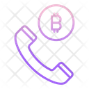 Bitcoin Call Icon