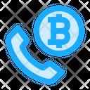 Bitcoin Call Icon