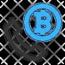 Bitcoin Call Bitcoin Call Icon