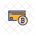 Bitcoin Card Credit Card Bitcoin Icon