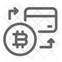Bitcoin Exchange Card Icon