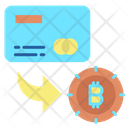 Card Bitcoin Bitcoin Card Icon