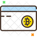 Credit Card Bitcoin Card Card Icon