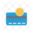Bitcoin Card Cryptocurrency Icon