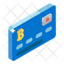 Bitcoin Card Credit Card Bank Card Icon