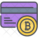 Bitcoin Card Money Icon