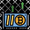 Bitcoin Card Graphic Card Gpu Icon