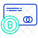 Bitcoin Card Payment Icon
