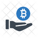 Bitcoin Protection Secure Icon