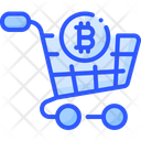 Bitcoin Cart Icon