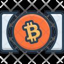 Bitcoin Cash Coin Crypto Currency Icon