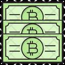 Bitcoin Cash Money Icon